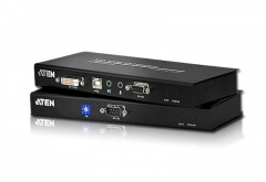 ATEN CE600 DVI and USB based KVM Extender with RS-232 serial 60 m