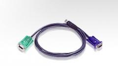 ATEN KVM kabelis (HD15-SVGA, USB, USB) - 3m