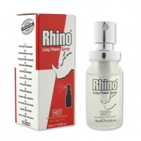 Atidėjimo purškiklis Rhino Long Power 10 ml Men passion
