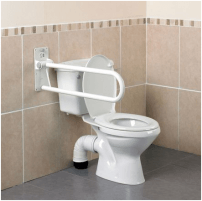 Atlenkiamas turėklas AA2012 Vonios ir tualeto reikmenys