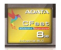 Atminties kortelė Adata Industria CFast 8GB, SLC, nuo -40 iki 85C