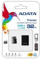 Atminties kortelė Adata microSDHC 32GB UHS1  Mikroskaitytuvas