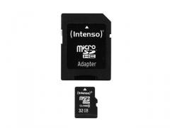 Atminties kortelė Intenso micro SD 32GB SDHC klasė 10