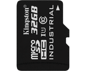 Atminties kortelė Kingston 32GB microSDHC UHS-I Class 10 Industrial Temp Card + SD Adapter
