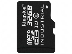 Atminties kortelė Kingston 32GB microSDHC UHS-I Industrial Temp Card Single Pack w/o Adapter
