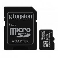 Atminties kortelė Kingston Industrial Temperature UHS-I U1 16 GB, MicroSDHC, Flash memory class 10, SD Adapter