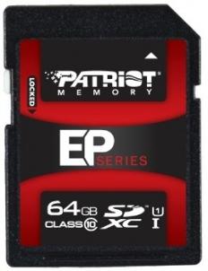 Atminties kortelė Patriot SDXC UHS-I U1 64GB CL10