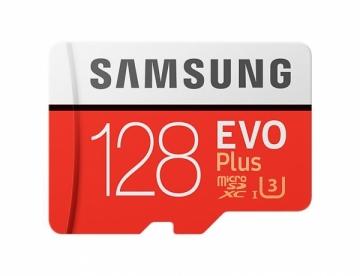 Atminties kortelė Samsung memory card EVO Plus microSDXC 128GB Class 10 UHS-I