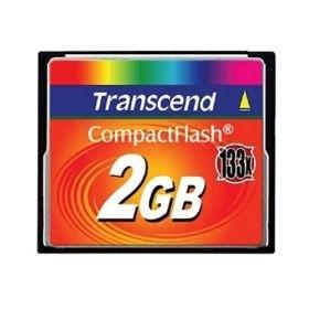 Atminties kortelė Transcend CF 2GB, Sparta iki 133x