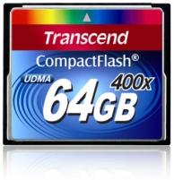 Atminties kortelė Transcend CF 64GB, Sparta 400x (90/60MBs)