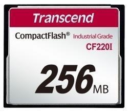 Atminties kortelė Transcend Industrial CF CF220I 256MB