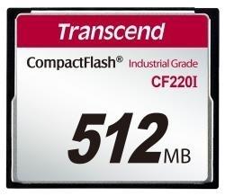 Atminties kortelė Transcend Industrial CF CF220I 512MB