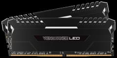 Atmintis Corsair Vengeance LED 2x16GB DDR4 2666MHz C16 - White LED