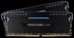 Atmintis Corsair Vengeance LED 2x16GB DDR4 3000MHz C15 - Blue LED
