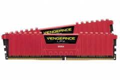 Atmintis Corsair Vengeance LPX Red, 2x8GB, 2400MHz DDR4, CL16, DIMM
