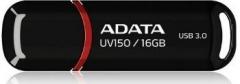 Atmintukas Adata DashDrive UV150 16GB USB3 90/20MBs, Juodas