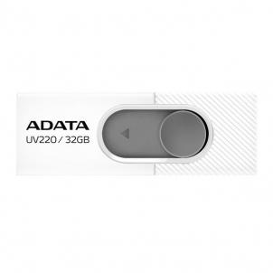Atmintukas Adata Flash Drive UV220, 32GB, USB 3.0, white and grey