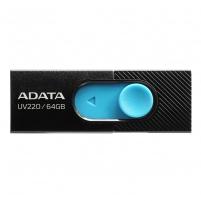 Atmintukas Adata Flash Drive UV220, 64GB, USB 3.0, black and blue