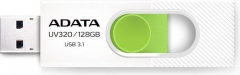 Atmintukas Adata Flash Drive UV320, 128GB, USB 3.0, white and green