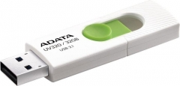 Atmintukas Adata Flash Drive UV320, 32GB, USB 3.0, white and green