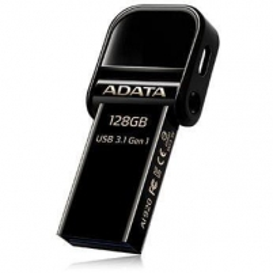 Atmintukas Adata i-Memory Flash Drive AI920, 128GB, Lightning / USB 3.1 Gen1, black