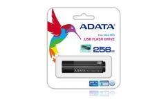 Atmintukas Adata S102 Pro 256GB USB 3.0 Titanium Gray, Sparta 200/120MBs