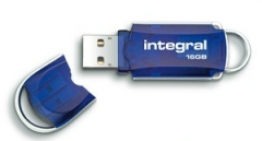 Atmintukas Integral Courier 16GB USB3, 80/20MBs