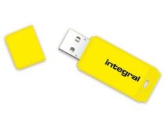 Atmintukas Integral Neon 16GB, Geltonas