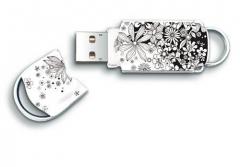 Atmintukas Integral Xpression Pattern 8GB, Gėlės, Praktiškas ir stilingas