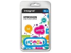 Atmintukas Integral Xpression TXT 16GB