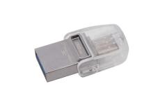 Atmintukas Kingston 32GB DT microDuo 3C, USB 3.0/3.1  Type-C flash drive