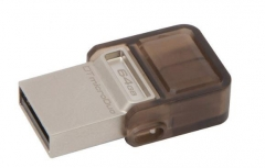 Atmintukas Kingston 64GB DT microDuo USB 3.0 micro&USB OTG