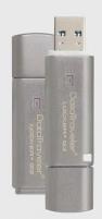Atmintukas Kingston DTLPG3 32GB USB3 135/40MBs, Aparatinis šifravimas
