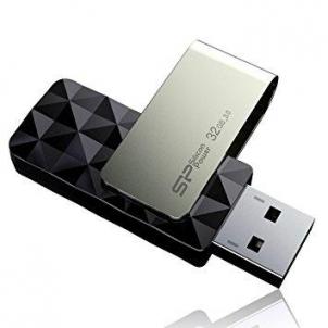 Atmintukas Silicon Power Blaze B30 32GB USB 3.0 Juodas