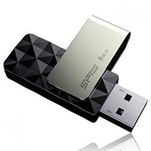 Atmintukas Silicon Power Blaze B30 8GB USB 3.0 Juodas