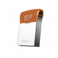 Atmintukas Silicon Power memory USB Jewel J35 64GB USB 3.1 COB metal Brown