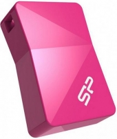 Atmintukas Silicon Power memory USB Touch T08 16GB USB 2.0 Pink