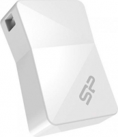 Atmintukas Silicon Power memory USB Touch T08 16GB USB 2.0 White
