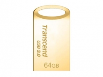 Atmintukas Transcend JetFlash 710, 64GB , Gold Plating
