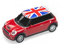 Atmintukas USB 2.0 Flash memory 16GB licensed Mini-Cooper