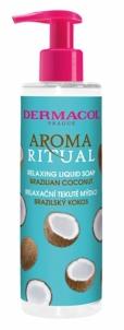 Atpalaiduojantis skystas muilas Dermacol Aroma Ritual Brazilian coconut 250 ml Muilas