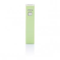 Atsarginė baterija įkrauti mobiliems prietaisams (šviesiai žalias)