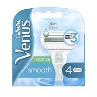 Atsarginės galvutės Gillette Venus Smooth Sensitiv e 4 vnt