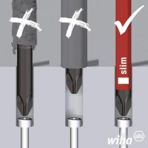 Atsuktuvų komplektas Wiha 2872 T10 10 Piece VDE Slim Screwdriver Set Skrūves komplekti