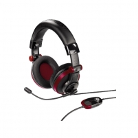 Ausinės 51828 PS3/360/PC Insomnia Headse Red Wired