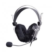 Ausinės A4Tech HS-60 HEADPHONE BLACK