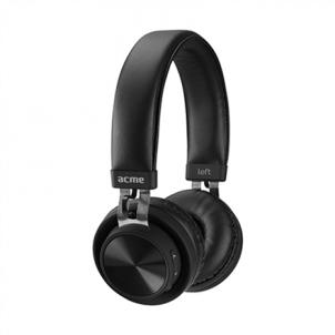 Ausinės Acme BH203 3.5 mm/Bluetooth, Black, Built-in microphone Belaidės, bluetooth ausinės
