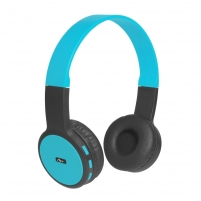 Ausinės ART Bluetooth Headphones with microphone AP-B05 black/blue