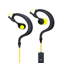 ART Bluetooth Headphones with microphone AP-B23 black/yellow sport (EARHOOK)
