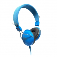 Ausinės ART Multimedia Headphones STEREO with microphone AP-60MB blue